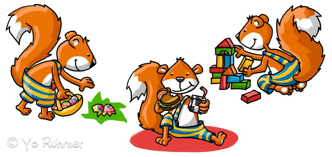 Eichhörnchen_Character