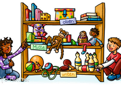Kinder_Schulbuchillustration