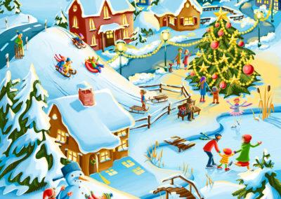 Lotto_Adventskalender_Schneelandschaft