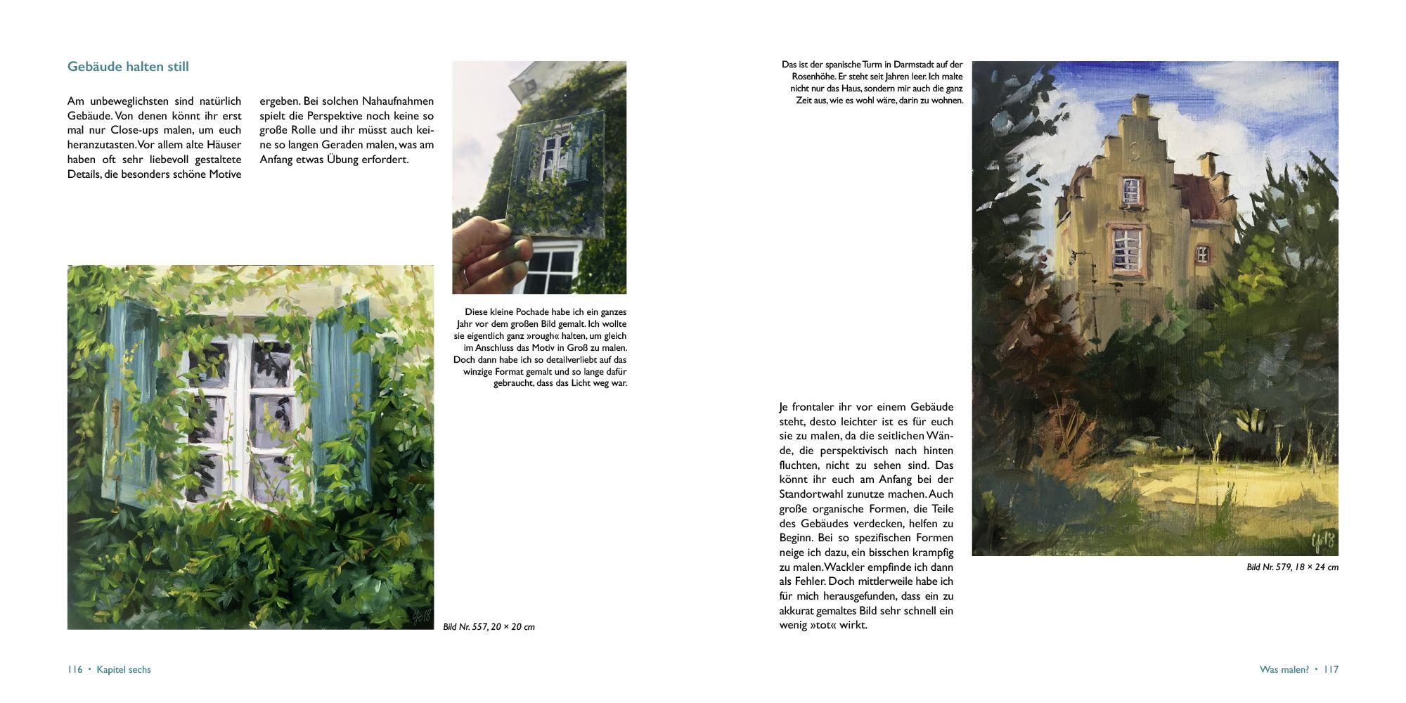 Pleinairmalereibuch