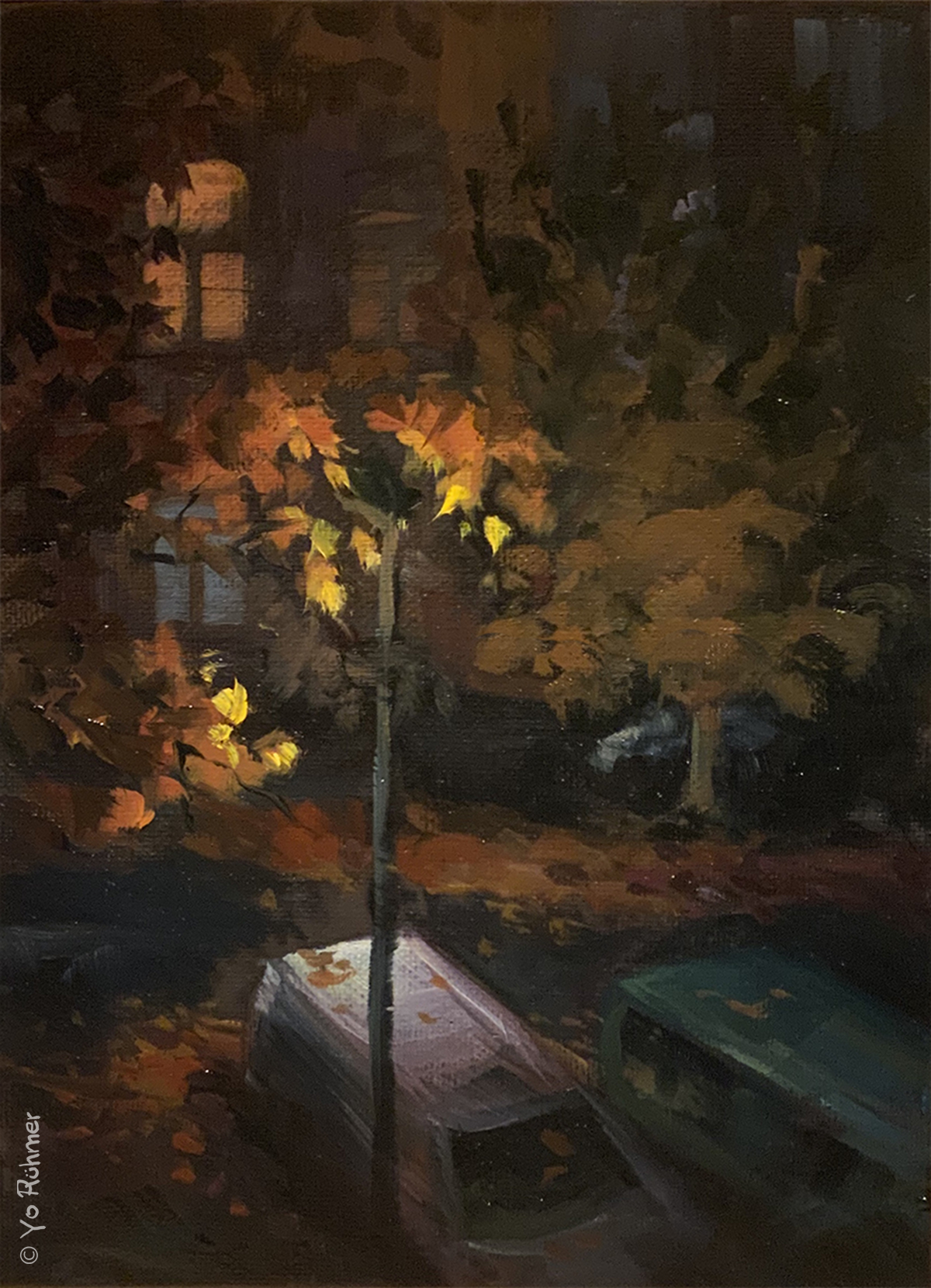 Nocturne_Ölbild